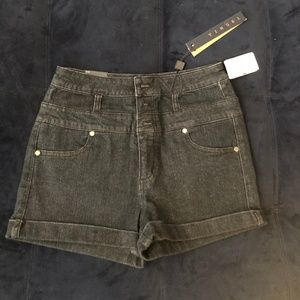 Tinsel dark denim jean shorts, TAGS ON, never worn
